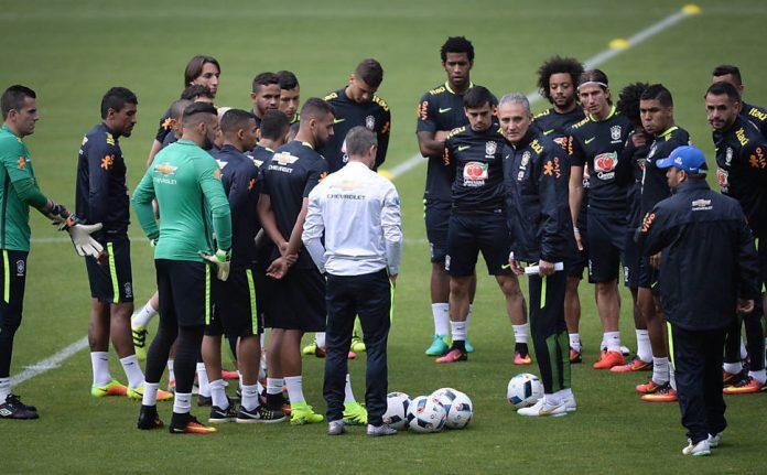 4e29541a1c Seleção brasileira já está no CT do Tottenham em Londres